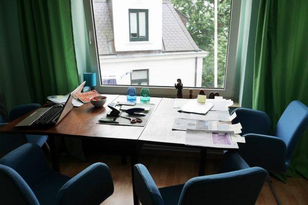 Arbeitsplatz im  Institut für Sprachen in Blankenese - Mathilde Mag