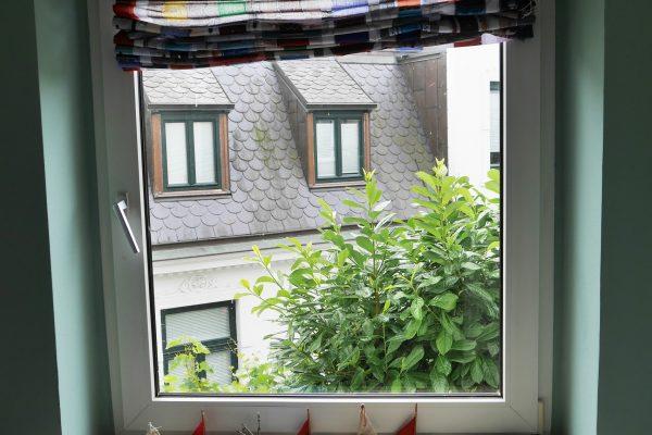 Esszimmerfenster des Institut für Sprachen in Blankenese - Mathilde Mag