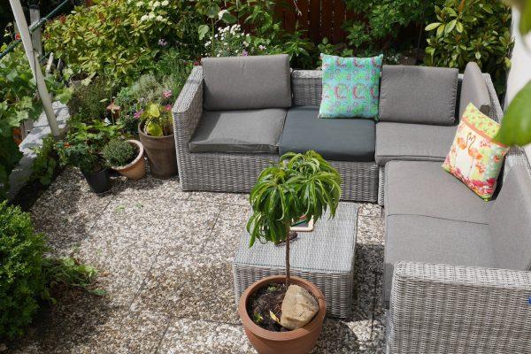 Kleiner Garten am  Institut für Sprachen in Blankenese - Mathilde Mag