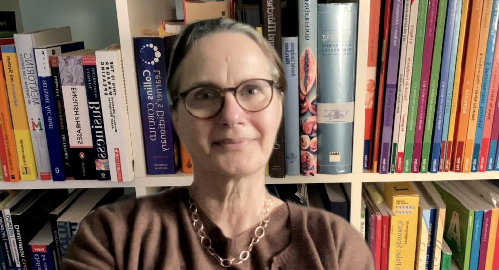 Tanja Gückler unterrichtet Englisch und Deutsch als Fremdsprache am Institut für Sprachen in Blankenese