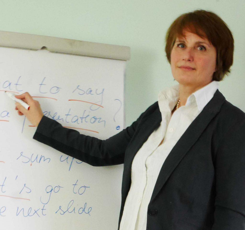 Präsentationstraining für die Universität im Institut für Sprachen in Blankenese