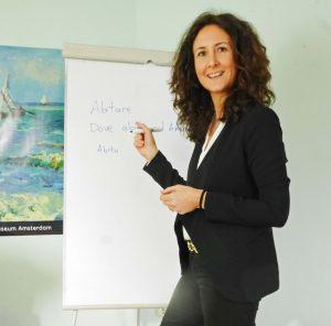Italienischunterricht mit Anna im Institut für Sprachen in Blankenese